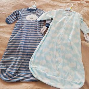 Carter's wearable fleece blanket sacks